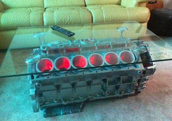 Engine block tables straight 6