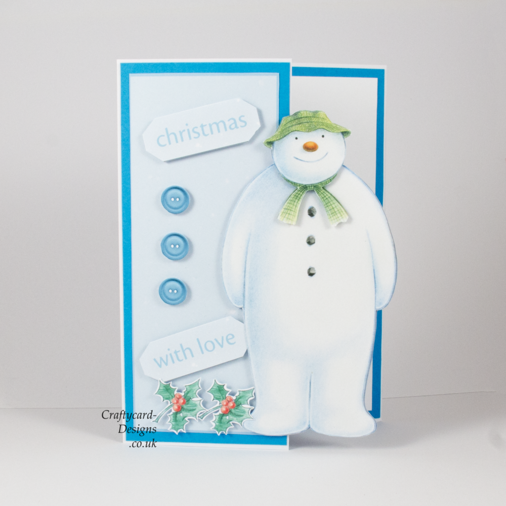 The Snowman Card Making Ideas Part - 30: Handmade Card : This Christmas Card Has Been Made Using Crafteru0027s Companion The  Snowman.