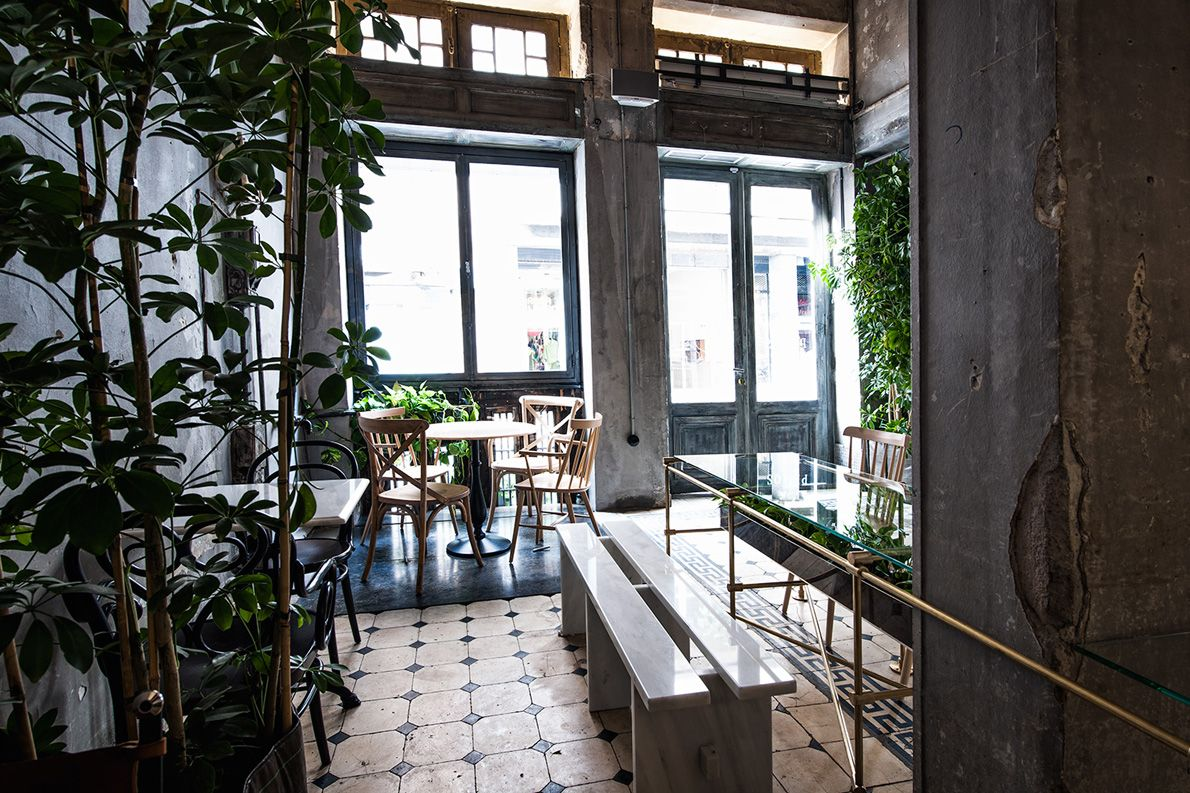 Looking inside out  at Philos Athens   The House   Pinterest     Looking inside out  at Philos Athens
