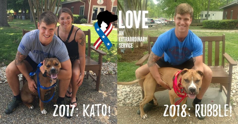 Kolin Is Active Duty Navy Last Year He And His Lovely Wife Kylie Adopted Kato Through Our Partnership With Virginia Beach Spca Animal Companions Pets Animals