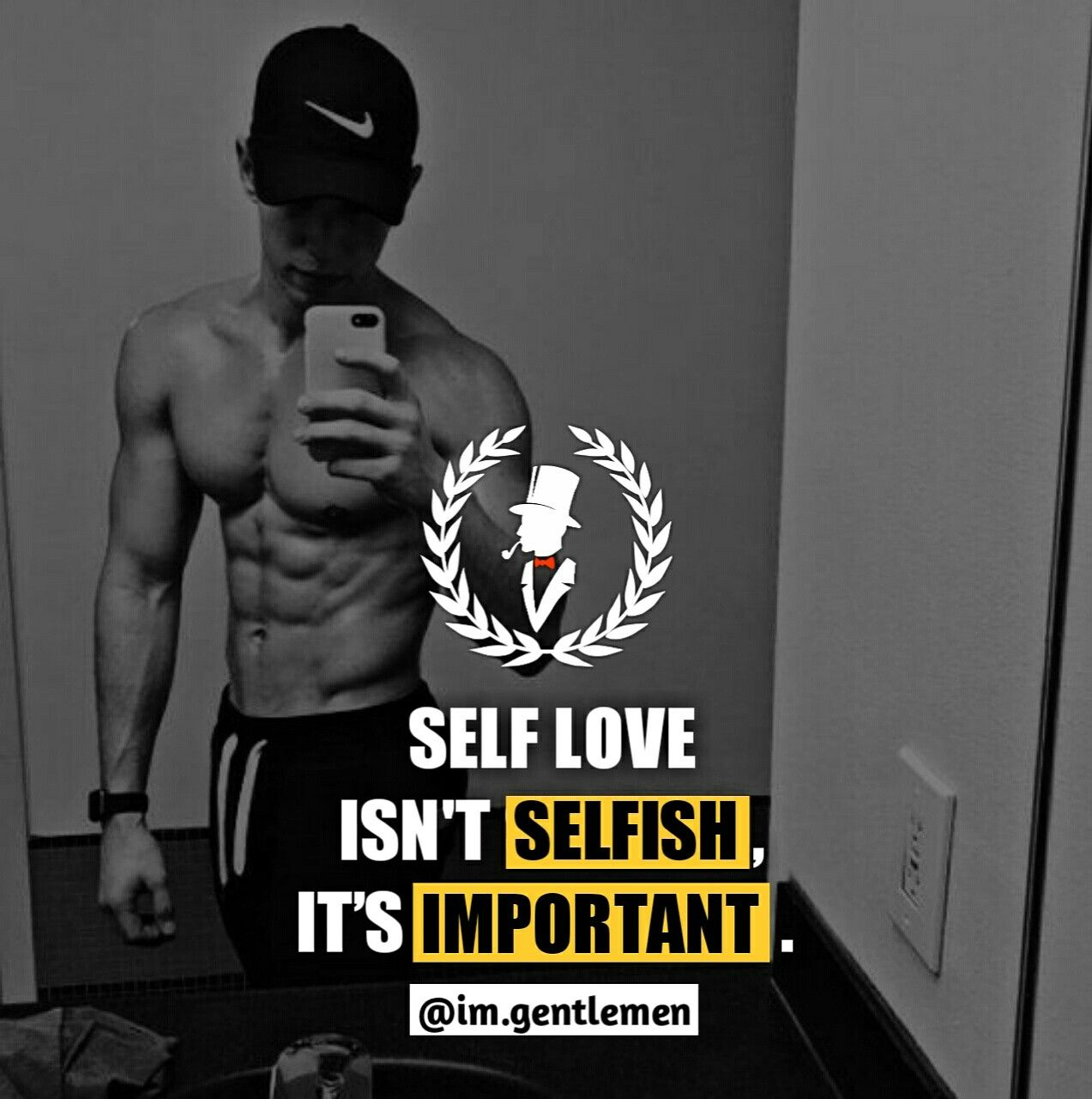 Love yourself (With images) | Real men quotes, Self love