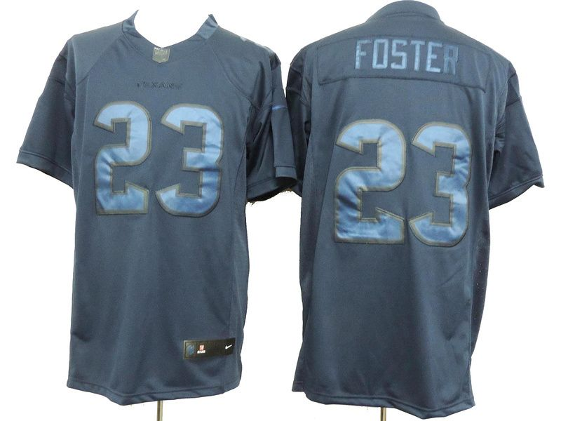 Hot Mens Houston Texans #23 Arian Foster Nike Navy Blue Drenched Limited  supplier