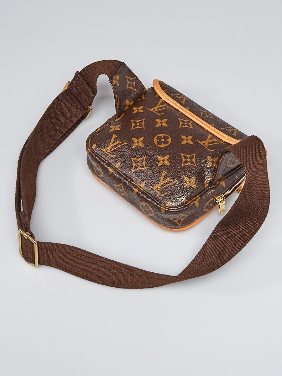7a1bd1f0518 Louis Vuitton Monogram Canvas Bosphore Bum Bag   Crush / Ore ...
