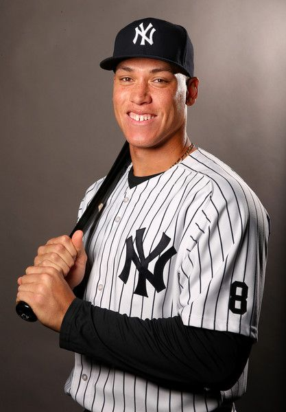 Aaron Judge Photos Photos New York Yankees Photo Day New York Yankees Yankees Ny Yankees