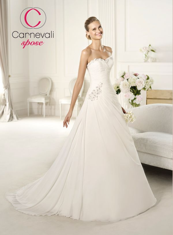 eb394cc5d34b Carnevali Spose Mobile - Vestiti da sposa - Photogallery - Pronovias  Fashion 1