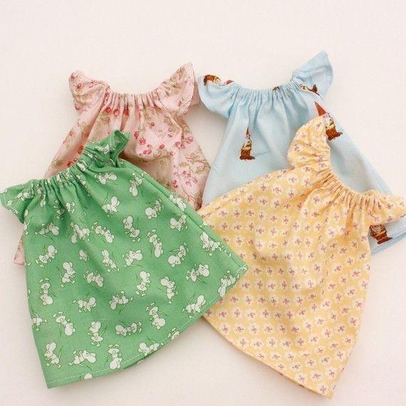 Pretty Peasant Dress PDF Pattern Doll Clothing | Bauern, Puppe und ...