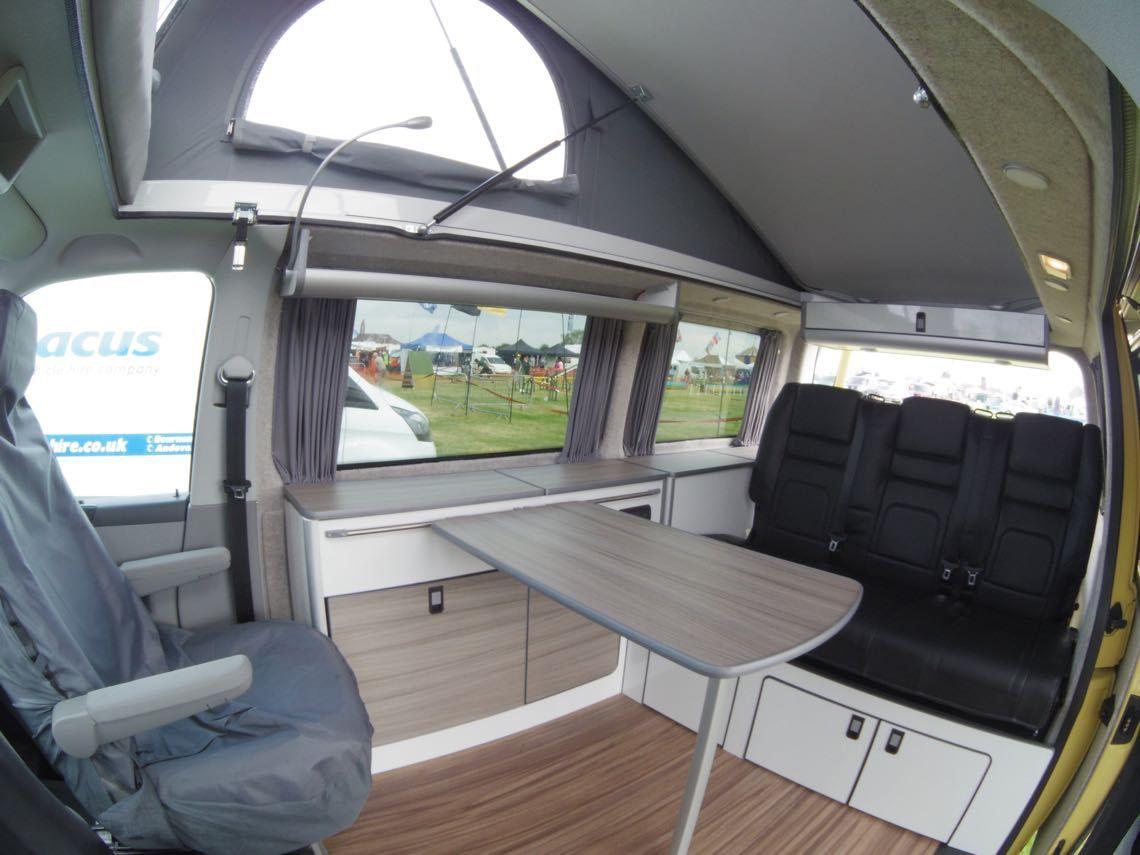 Conversion Gallery Vw T5 Campers Kitchen Pods Flat Pack Evo Design Vw Transporter Camper Camper Conversion Vw Transporter