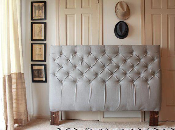 como hacer cabeceros de cama foto final | dormitorio | Pinterest ...
