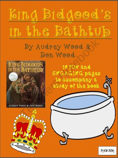 King Bidgoods In The Bathtub Activity Packet From Joy In