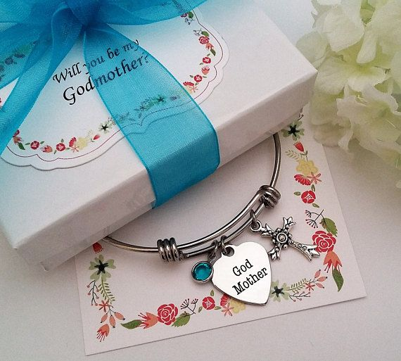 Godmother Wedding Gift: GIFT For GODMOTHER, Will You Be My Godmother, Godmother