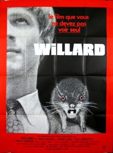 Bruce-Davison-Sondra-Locke-Ernest-Borgnine-WILLARD-Daniel-Mann-1971-120x160