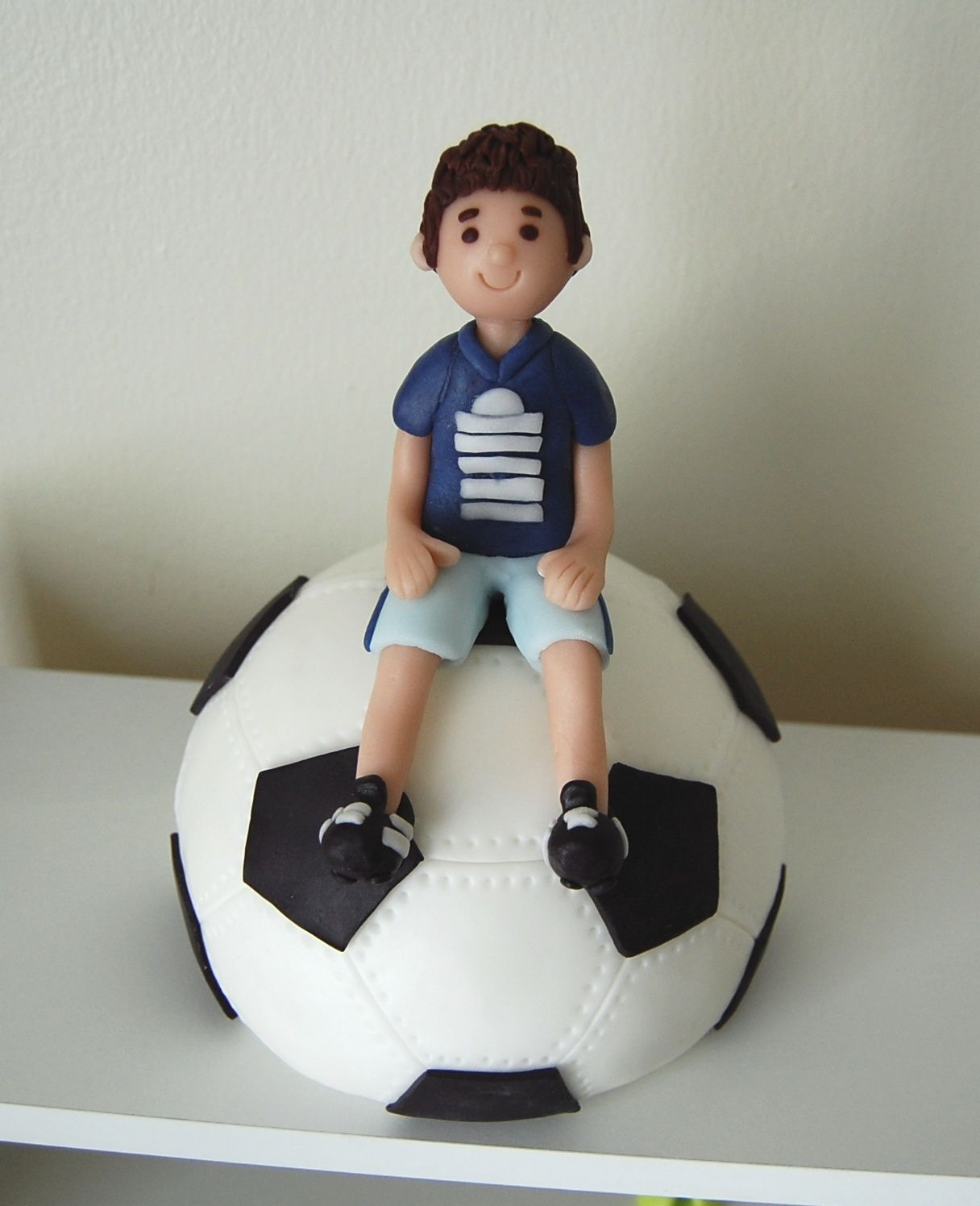 Customized Soccer Theme Cake Topper By Jollitops Sports Themed Cakes Soccer Theme Themed Cakes
