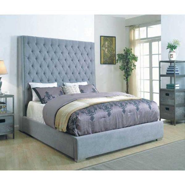 caprice upholstered queen bed