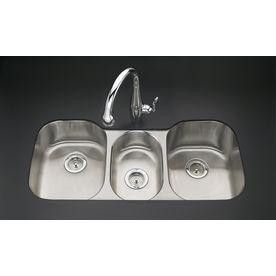 Kohler Undertone 2012 In X 4162 In Stainless Steel