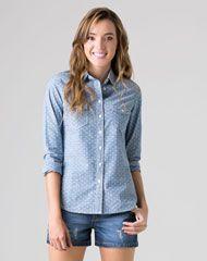 322db1d120a3 Camisas para Mujer Gef   oufit de mujer   Camisas mujer, Gef y Mujeres