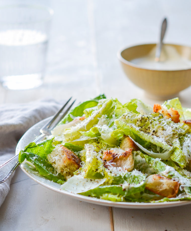 Homemade Caesar Salad Dressing Once Upon A Chef Caesar Salad Recipe Caesar Salad Caesar Salad Dressing