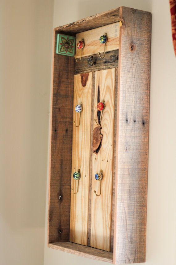 Reclaimed Pallet Jewelry Display Case by ...