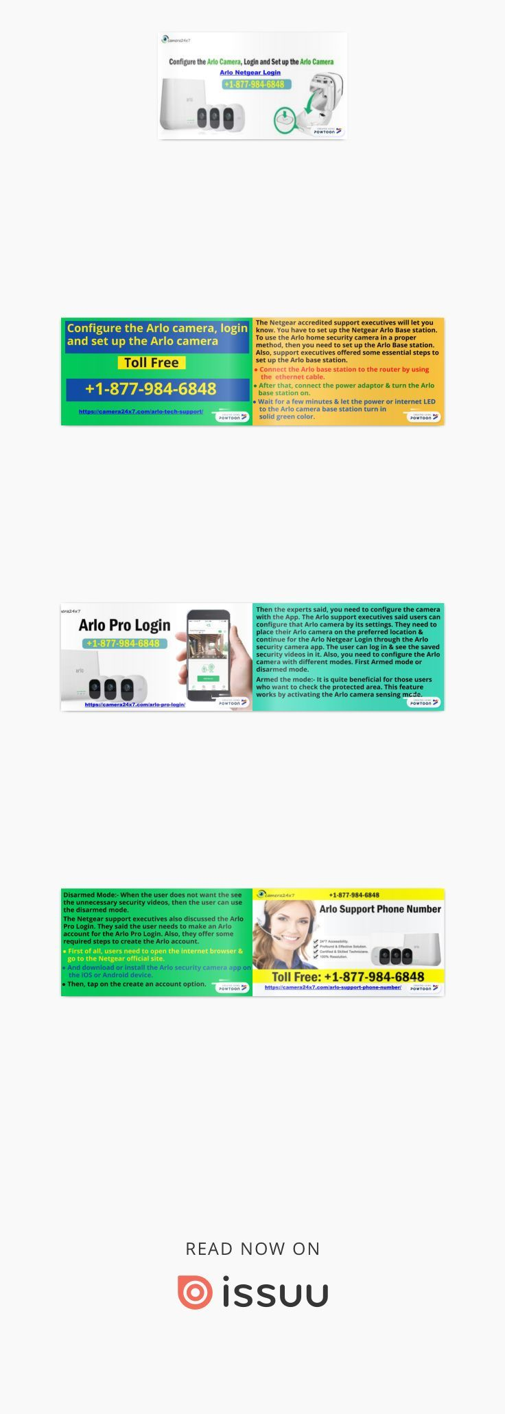 Configure the Arlo camera 18779846848 Login and Setup the