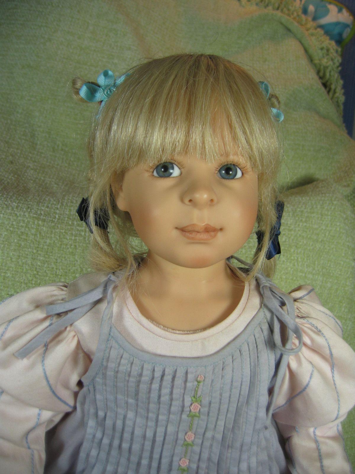 "Rosemary Lovely Handpainted 25"" Doll by Heidi Plusczok | eBay"