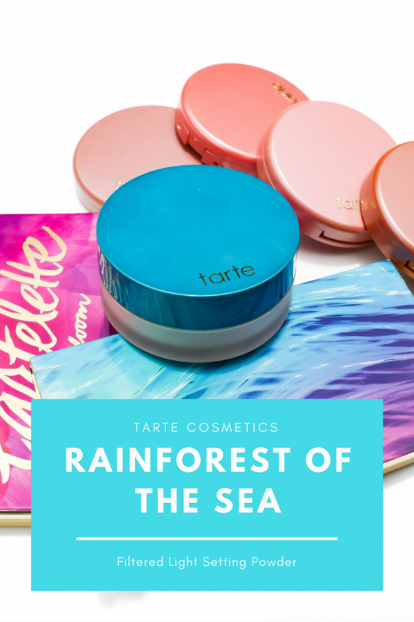 17220c053680 TARTE COSMETICS RAINFOREST OF THE SEA FILTERED LIGHT SETTING POWDER ...