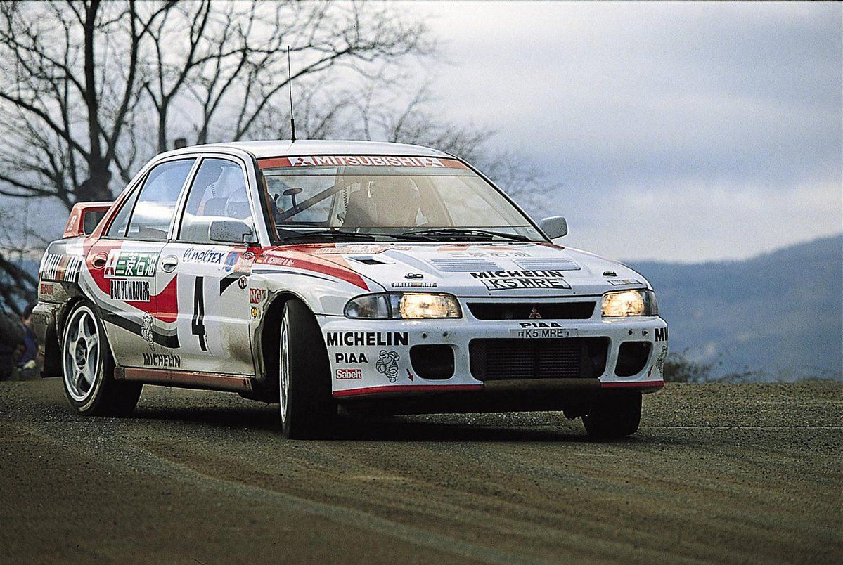 Makinen 1 old days rally pinterest rally drivers mitsubishi lancer and subaru