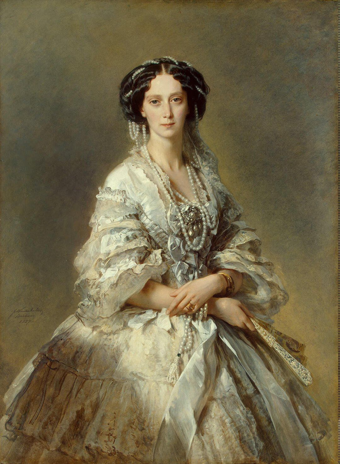 Winterhalter Francois Xavier Portrait of Empress Maria Alexandrovna Painting Reproduction On Artclon For Sale | Buy Art Reproductions Portrait of Empress Maria Alexandrovna