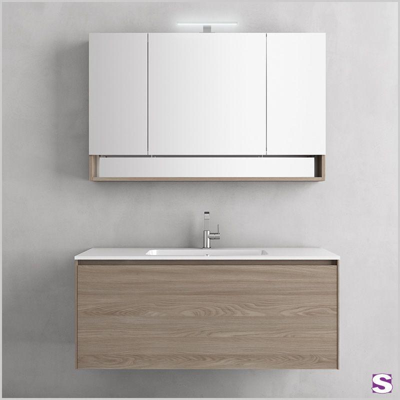 Badmöbelset Neema - Dieses Badmöbel Set ist perfekt auf alle - spiegelschrank fürs badezimmer