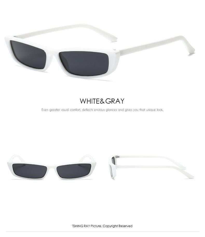 d36724a769 Kendall Jenner Vintage Cat Eye Sunglasses Women Superstar Fashion Brand  Designer Small Cateye Sun Glasses For
