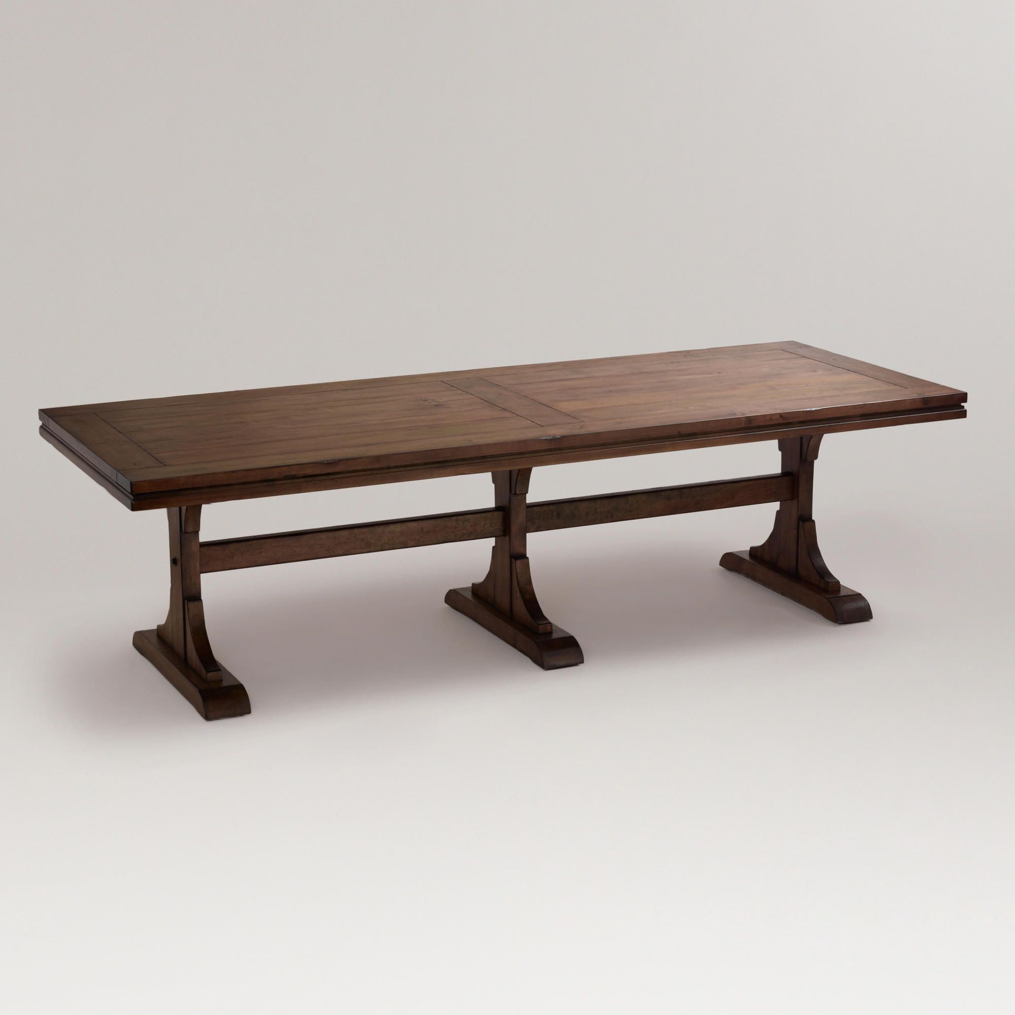 Monroe dining table world market this would be great for holiday dinners