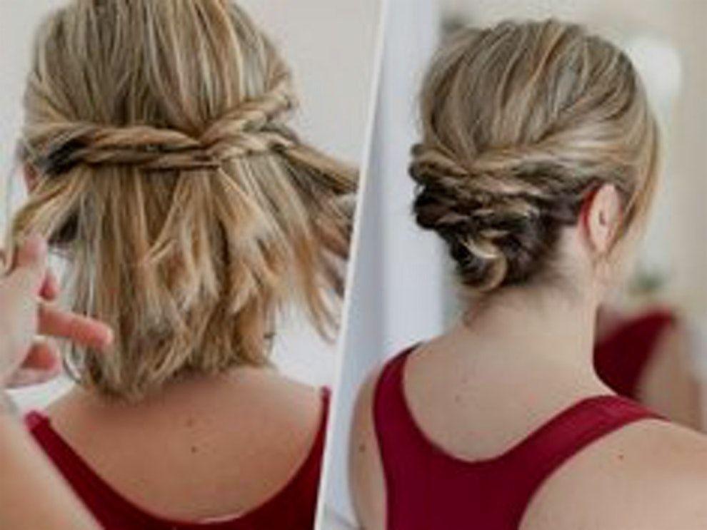Retour Au D But Coiffure Mariage Cheveux Court Simple 17