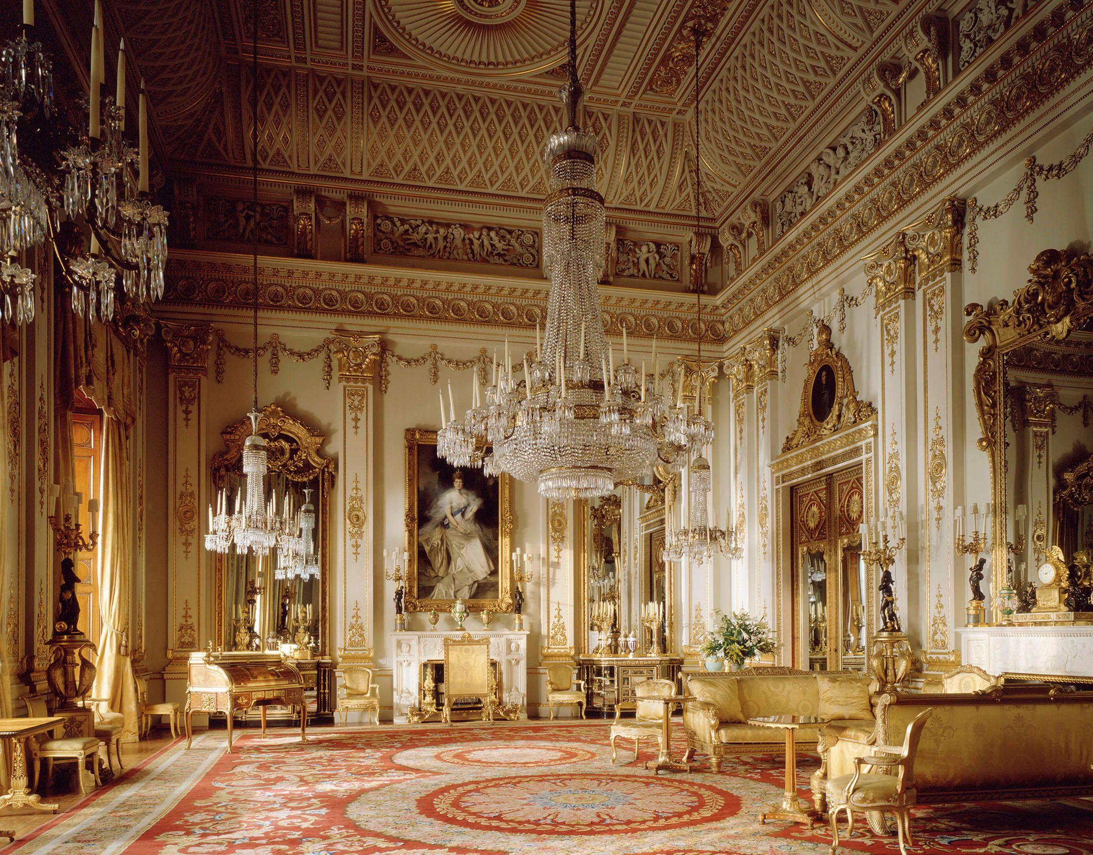 O Desenho Branco no Palácio de Buckingham