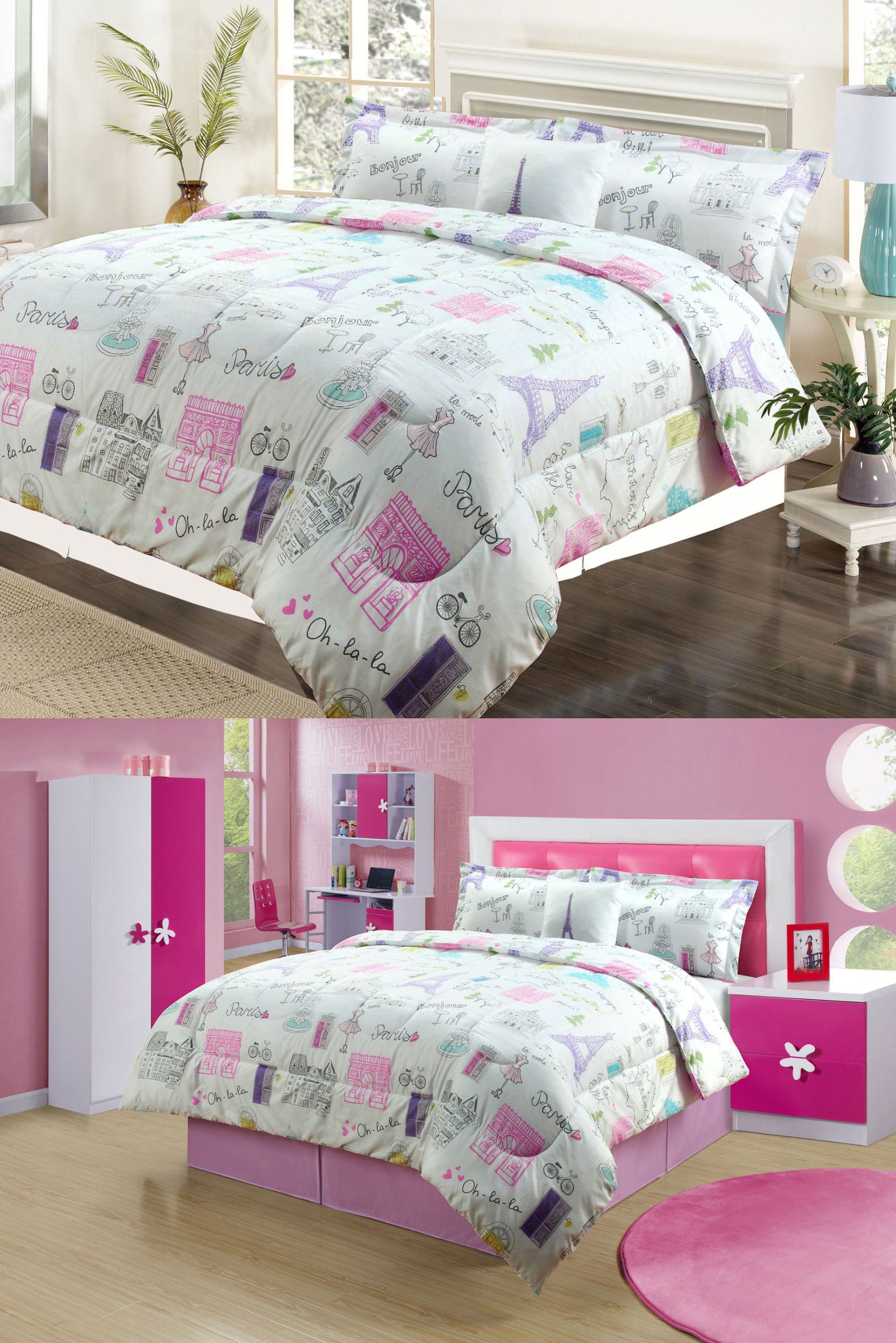 helena comforter sets full purple set summer girl sweet or p twin queen spring quilt pink pa floral green bedding
