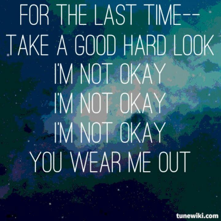 360 - Im OK Lyrics - SongLyrics.com