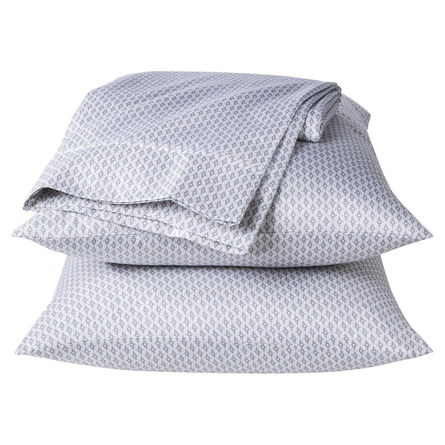 Threshold performance sheet set patterns thread count bedding