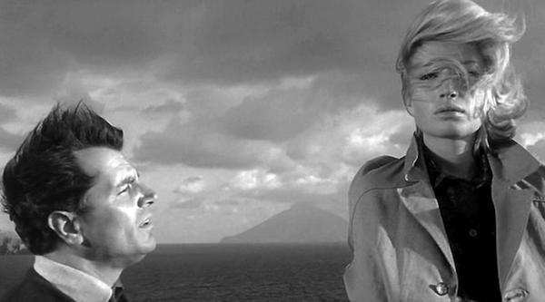 L'AVVENTURA di Michelangelo Antonioni, con Monica Vitti, 1960
