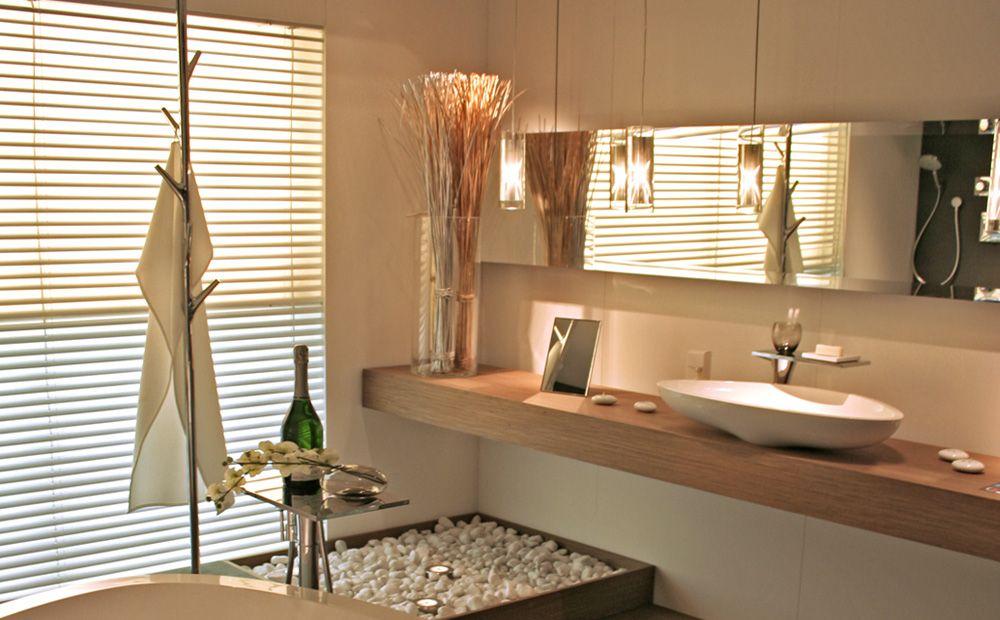 Badkamer inrichting met decoratie badkamer