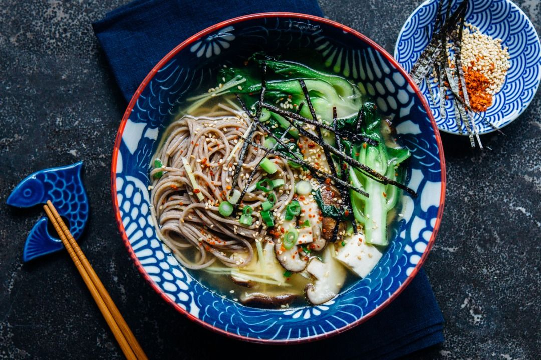 Find comfort on these cold winter days with a vegan miso soup recipe from Madeline Lu on the Crate and Barrel Blog.