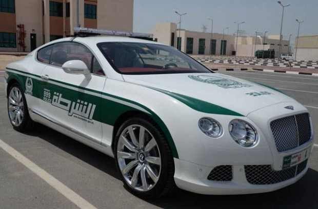 Dubai's police car #Bentley | Police cars, New supercars