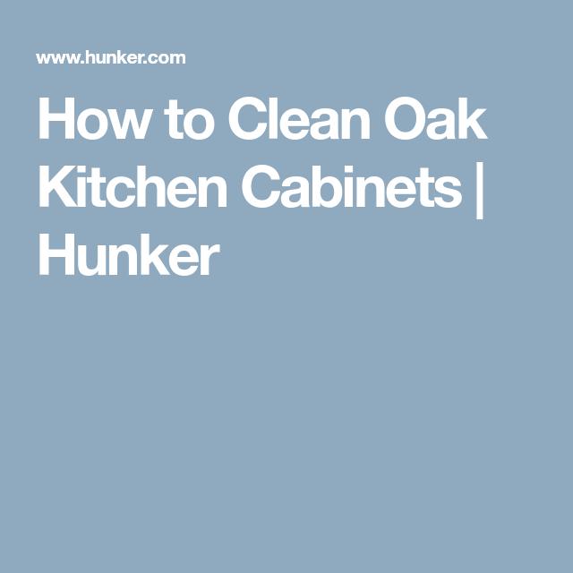 Knotty Oak Kitchen Cabinets: How To Clean Oak Kitchen Cabinets