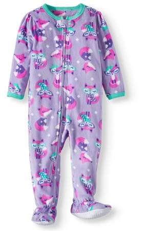 22b8d8b43f7b Peas   Carrots Microfleece Blanket Sleeper Pajamas (Toddler Girls ...