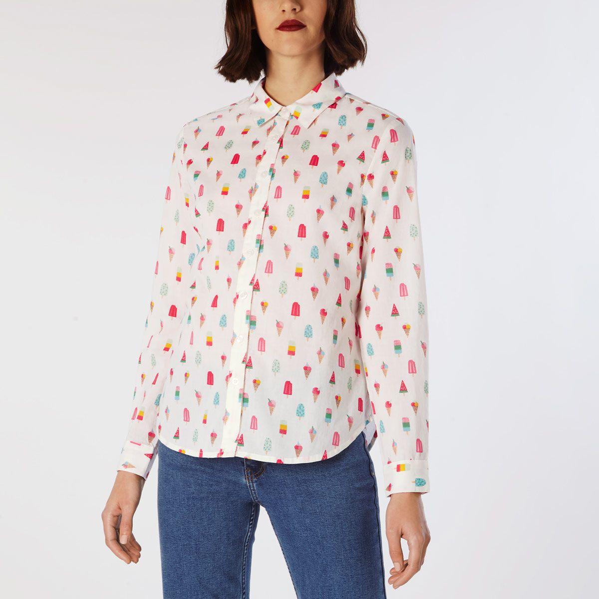 9b4a8610c4ea Lollies Cotton Shirt   Tops & Blouses   CathKidston   Fashion ...