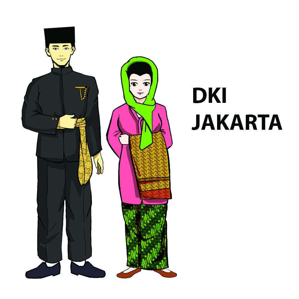 Pakaian adat Daerah Khusus Ibukota Jakarta | Pakaian ...