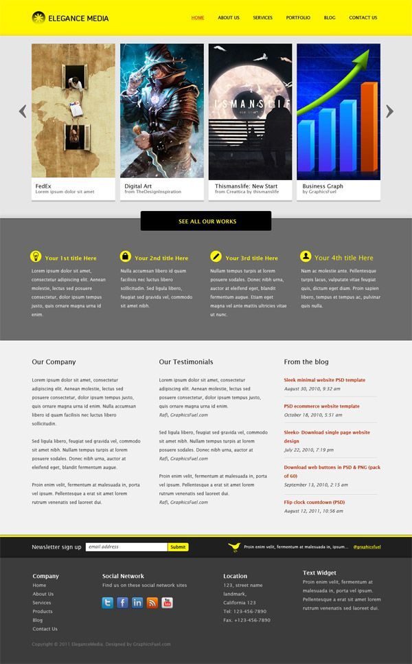 Clean business website template psd business website business business website preview psd accmission Images