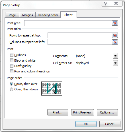 Print an excel 2010 spreadsheet with header rows at the top of print an excel 2010 spreadsheet with header rows at the top of every page five ccuart Choice Image