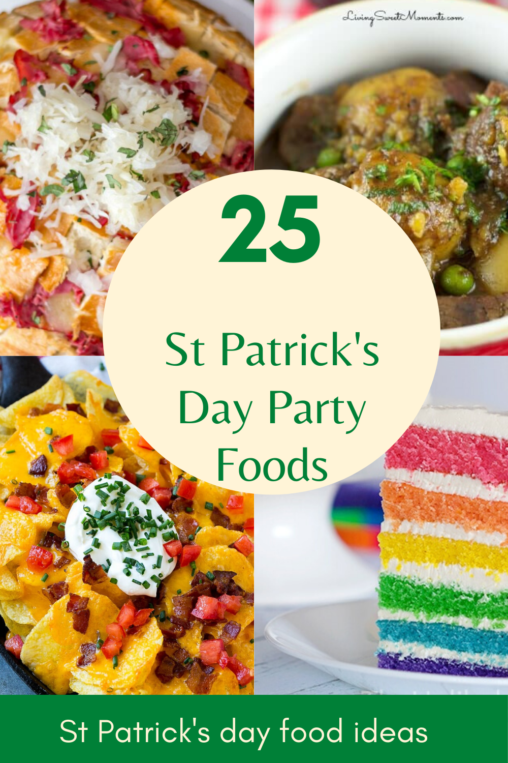 25+ St Patrick's Day Party Food Recipes - My Turn for Us