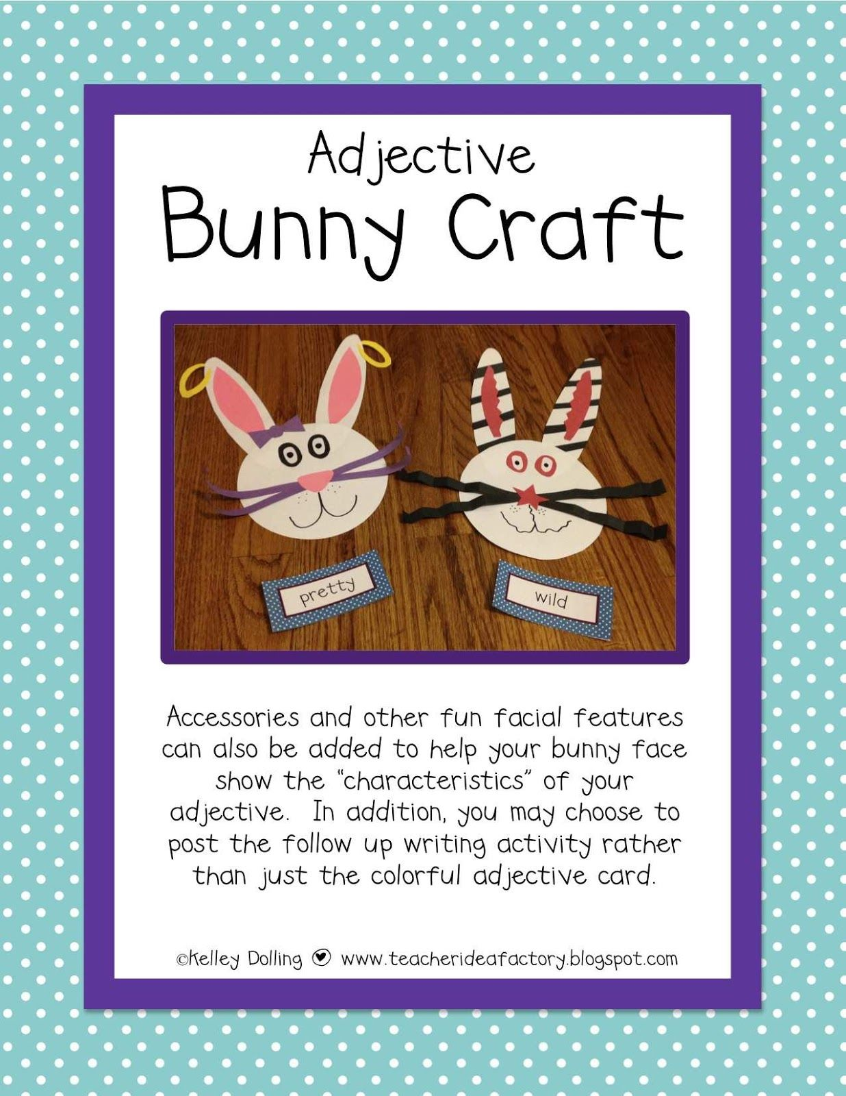 Common Core Aligned Easter Craftivity.