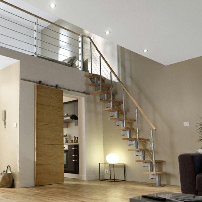Où trouver le meilleur escalier gain de place? | Escalier gain de place, Escalier, Idées escalier