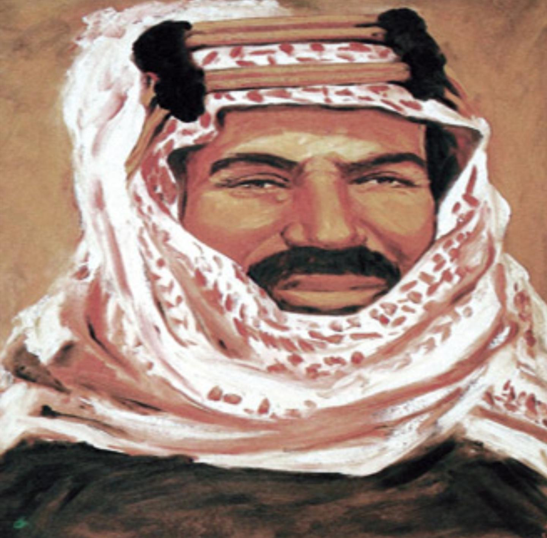الملك عبدالعزيز بن عبدالرحمن آل سعود من أعمال الأمير خالد الفيصل Portrait Tattoo Art Portrait
