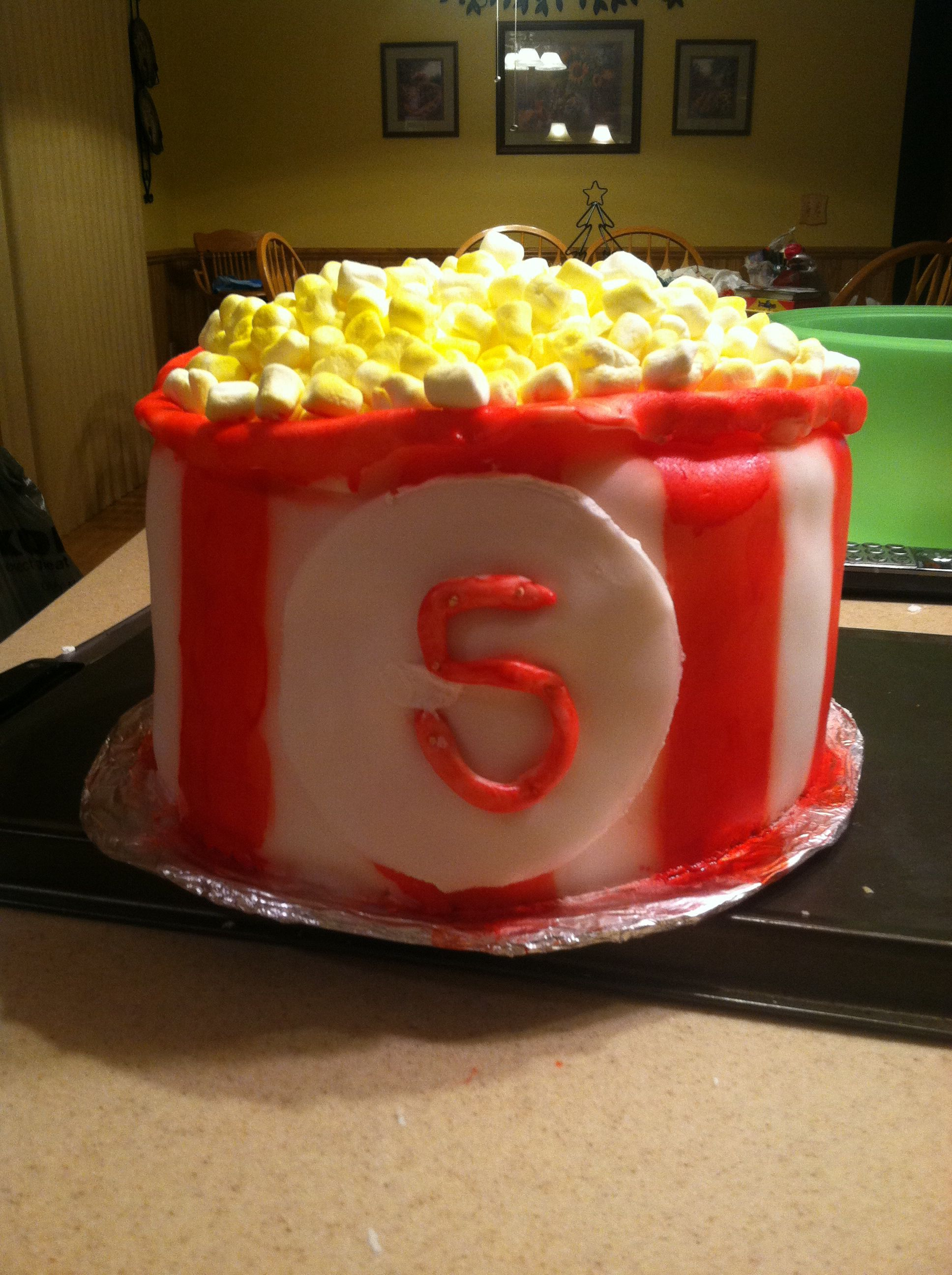 The birthday cake made leah rodriguez at home movie party also best images ideas cinema rh pinterest