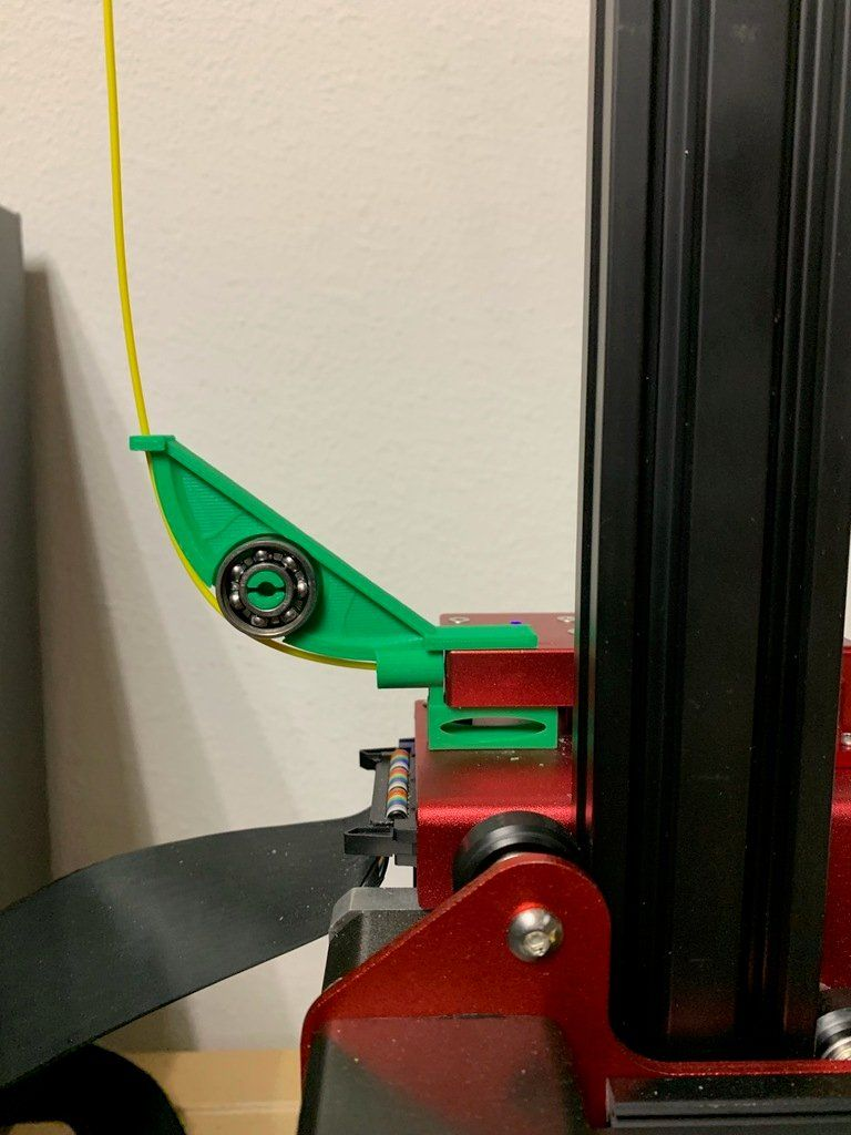 Creality Cr 10s Pro Filament Feeder By Cuhing Thingiverse Printer 3d Printing 3d Printer